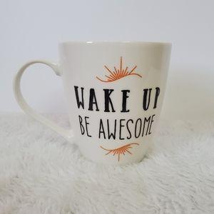 Pfaltzgraff Wake Up Be Awesome Coffee Tea …
